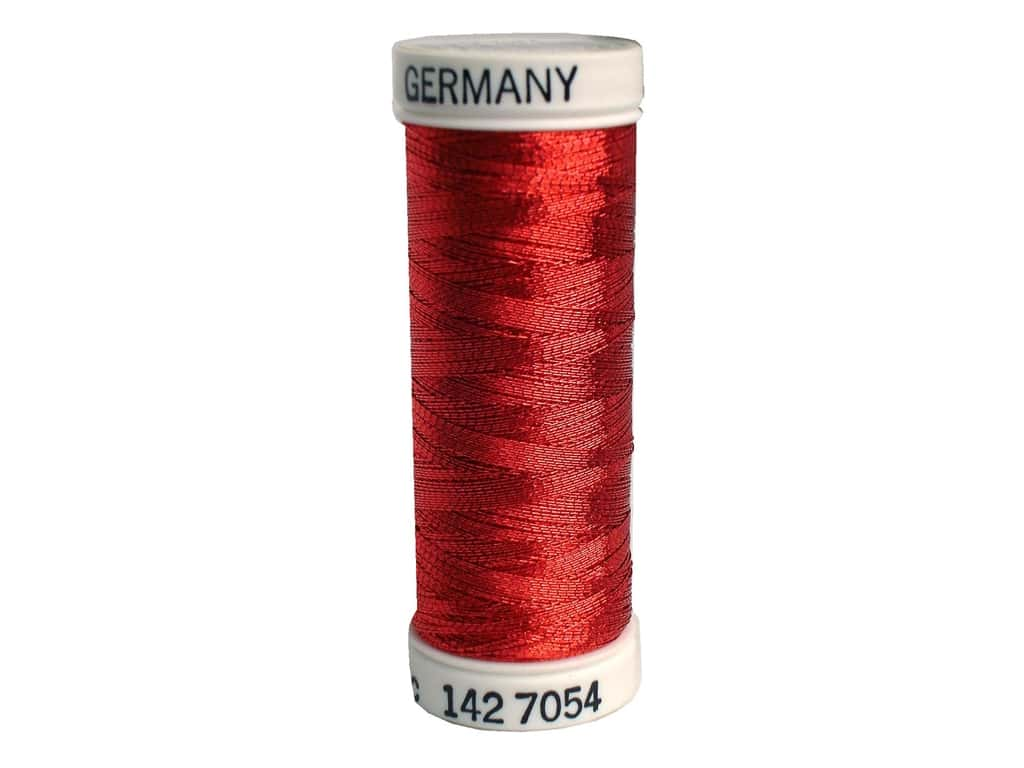Sulky Original Metallic Thread 165 yd. #7054 Red