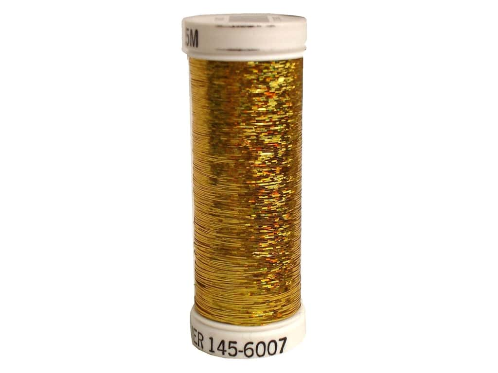 Sulky Holoshimmer Metallic Thread 250 yd. #6007 Gold