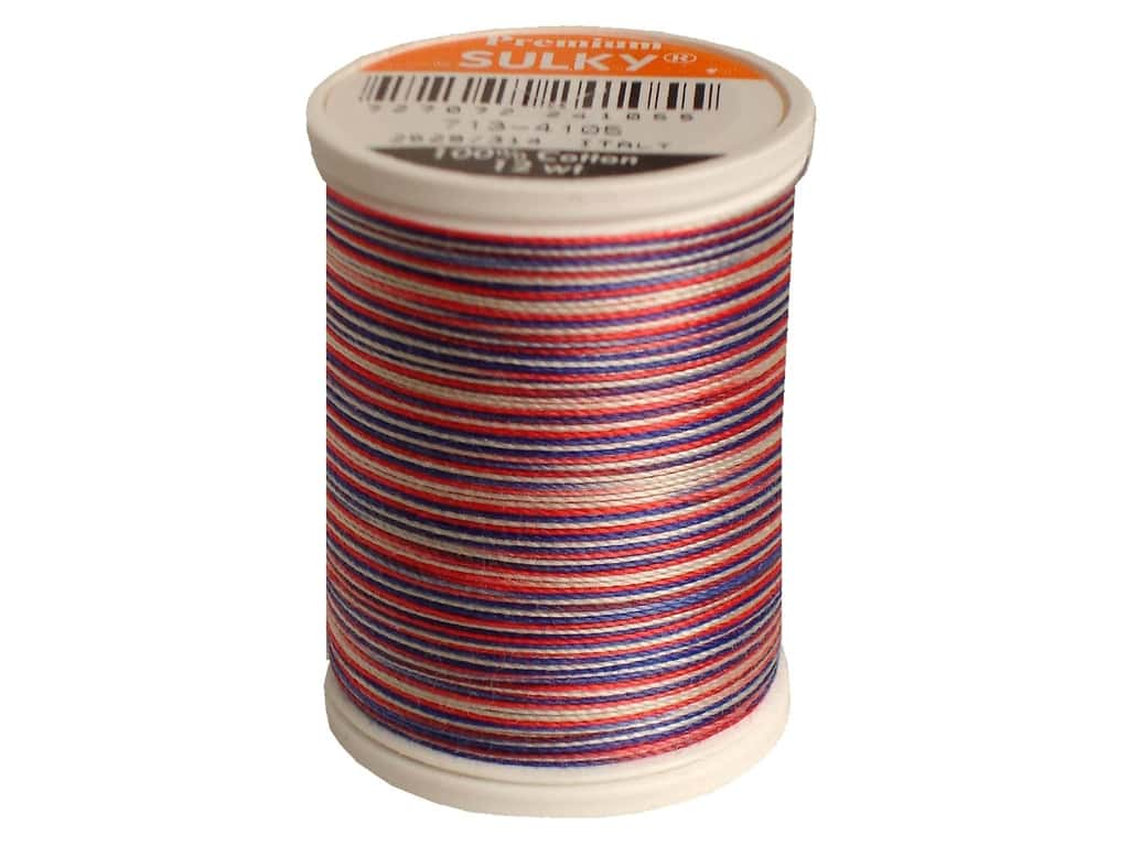 Sulky Blendables Cotton Thread 12 wt. 330 yd. #4105 America