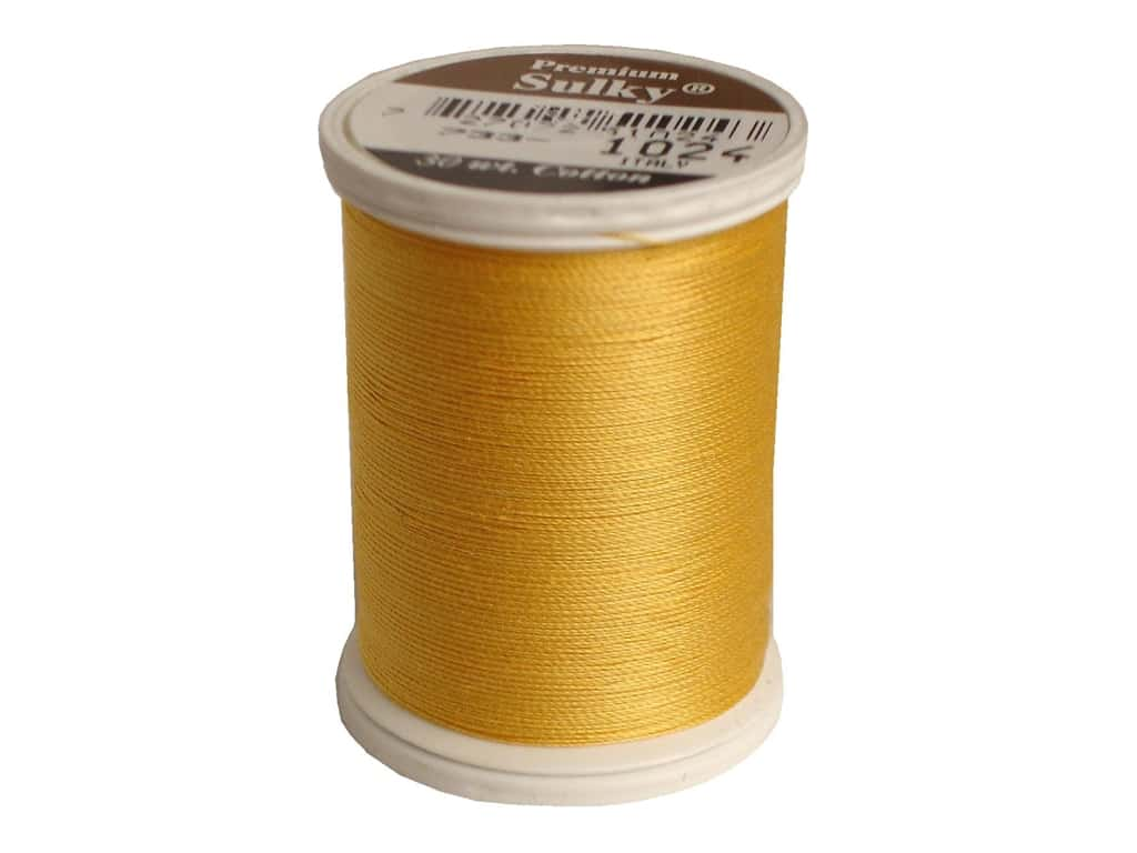 Sulky Cotton Thread 30 wt. 500 yd. #1274 Goldenrod