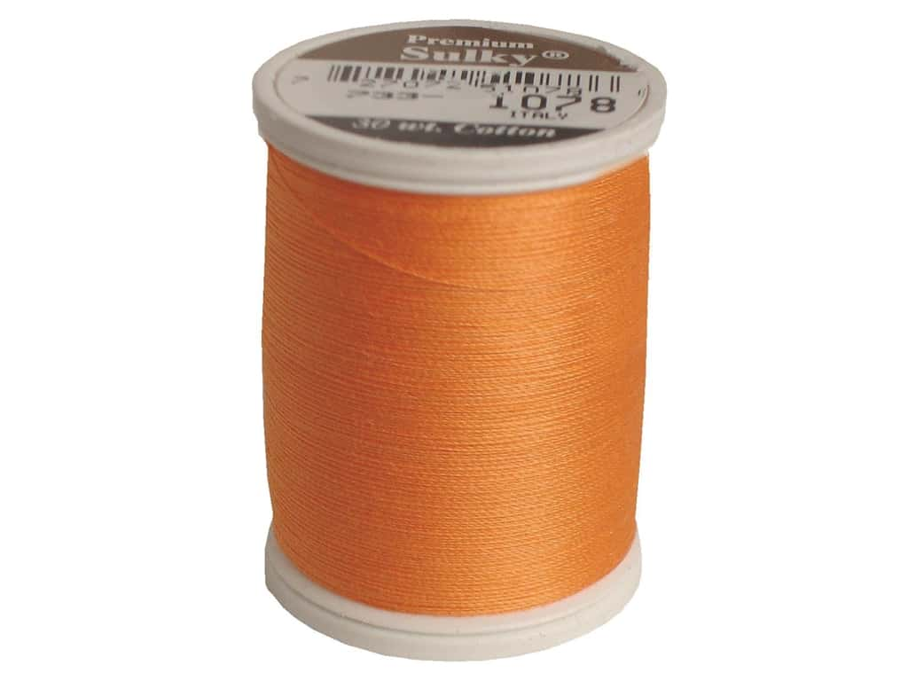 Sulky Cotton Thread 30 wt. 500 yd. #1078 Tangerine