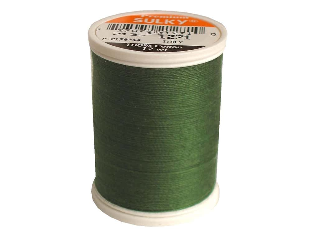 Sulky Cotton Thread 12 wt. 330 yd. #1271 Evergreen