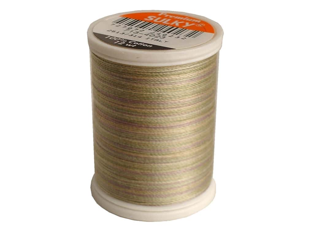 Sulky Blendables Cotton Thread 12 wt. 330 yd. #4023 Natural Taupe