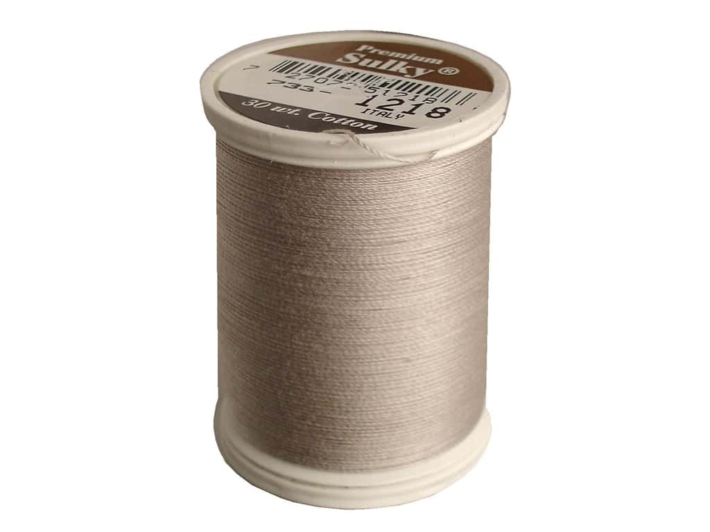 Sulky Cotton Thread 30 wt. 500 yd. #1218 Silver Grey