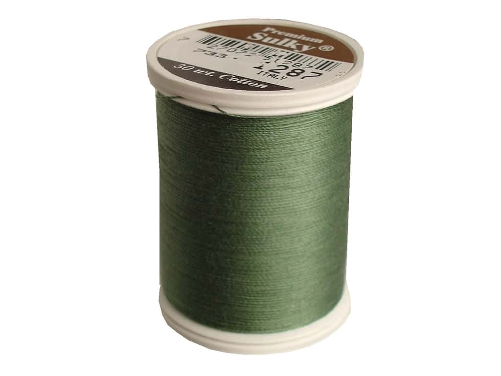 Sulky Cotton Thread 30 wt. 500 yd. #1287 French Green