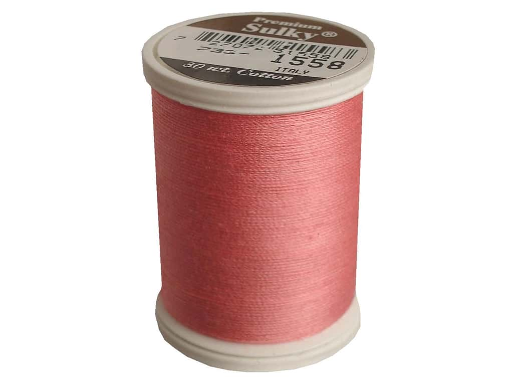 Sulky Cotton Thread 30 wt. 500 yd. #1558 Tea Rose