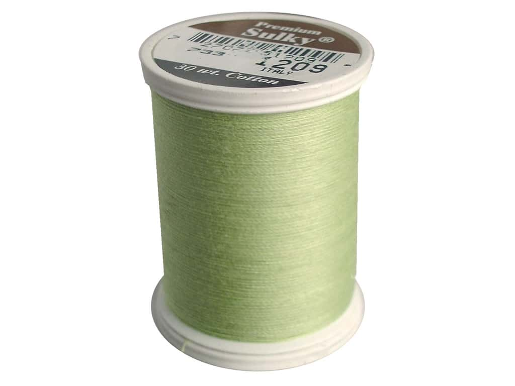 Sulky Cotton Thread 30 wt. 500 yd. #1209 Light Avocado