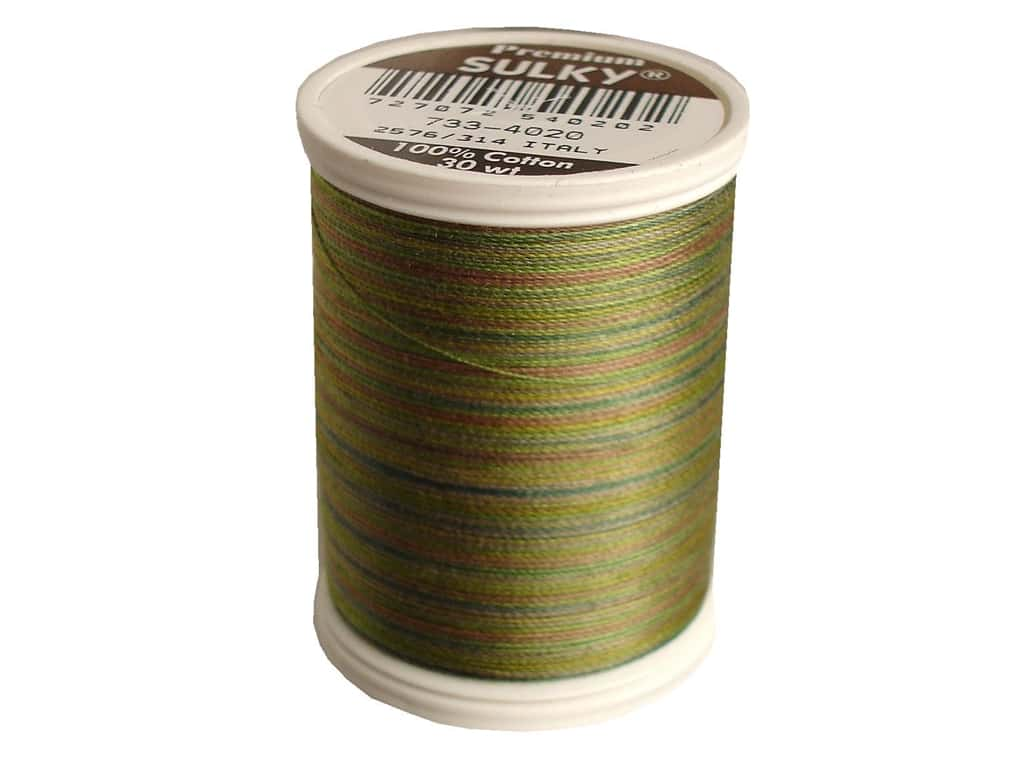 Sulky Blendables Cotton Thread 30 wt. 500 yd. #4020 Moss Medley