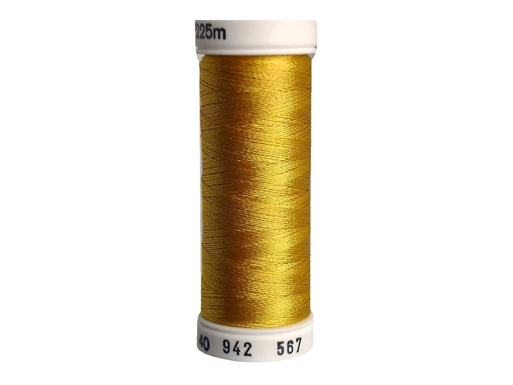 Sulky Rayon Thread 40 wt. 250 yd. #567 Butterfly Gold