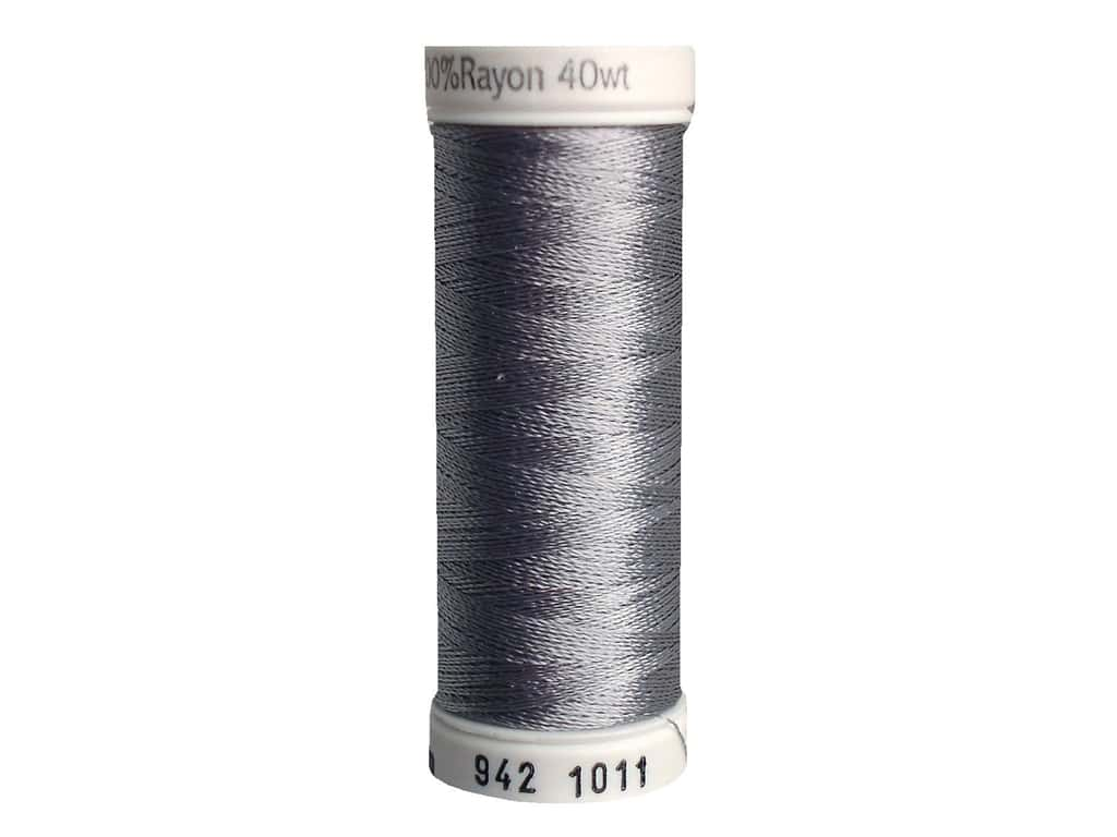 Sulky Rayon Thread 40 wt. 250 yd. #1011 Steel Grey