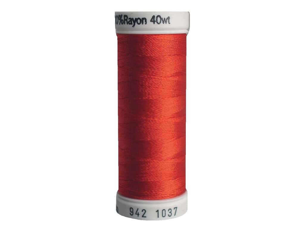 Sulky Rayon Thread 40 wt. 250 yd. #1037 Light Red