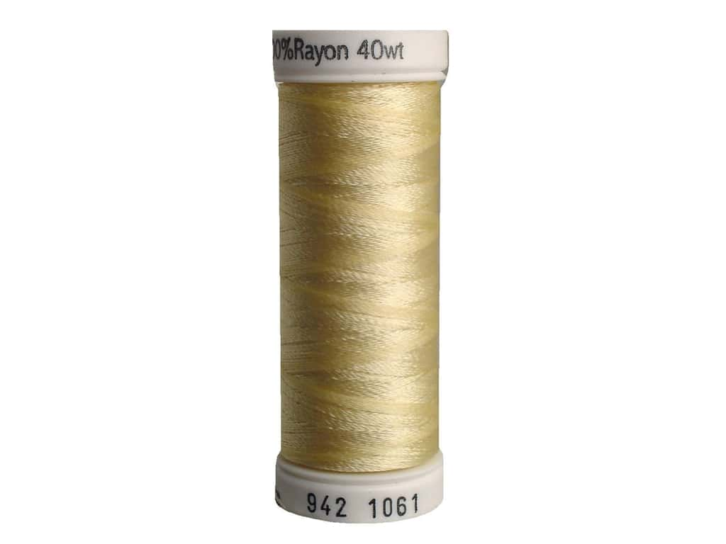 Sulky Rayon Thread 40 wt. 250 yd. #1061 Pale Yellow