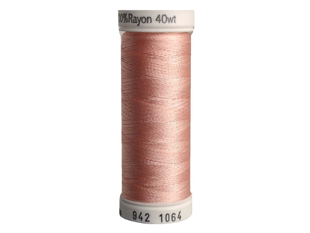 Sulky Rayon Thread 40 wt. 250 yd. #1064 Pale Peach
