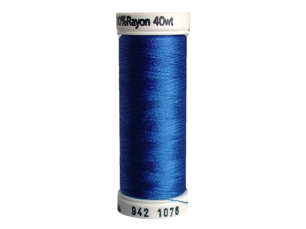 Sulky Rayon Thread 40 wt. 250 yd. #1076 Royal Blue