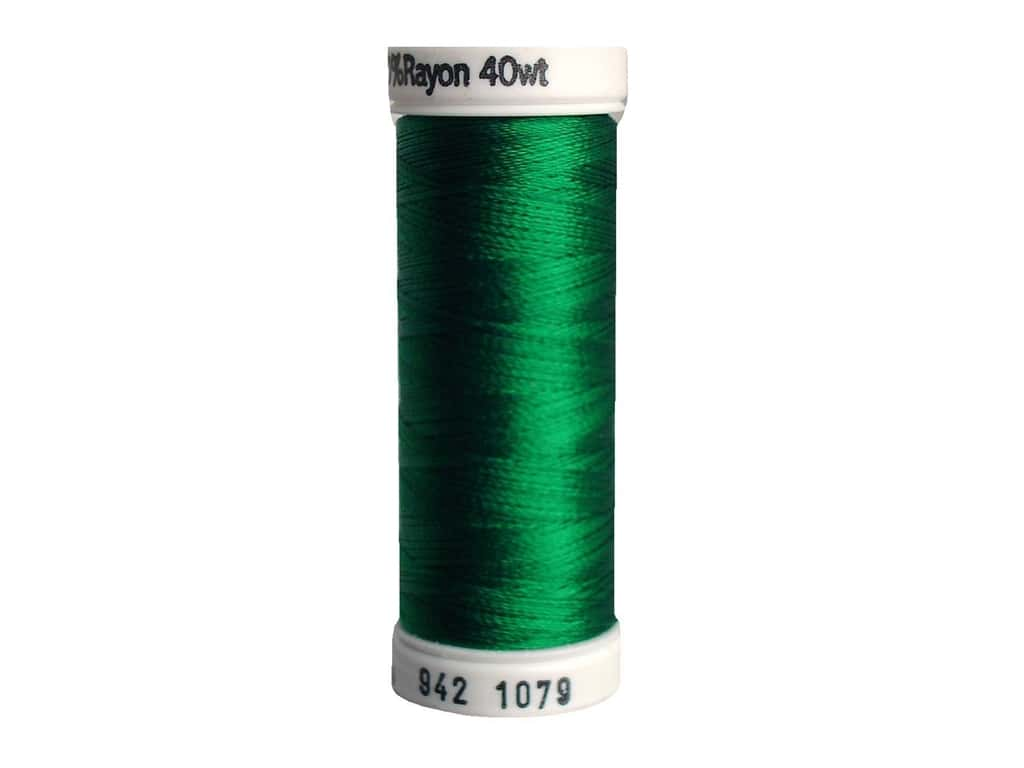 Sulky Rayon Thread 40 wt. 250 yd. #1079 Emerald Green