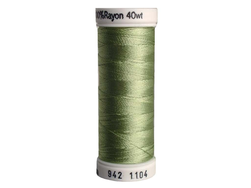 Sulky Rayon Thread 40 wt. 250 yd. #1104 Yellow Green