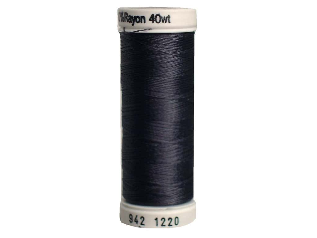 Sulky Rayon Thread 40 wt. 250 yd. #1220 Charcoal Grey