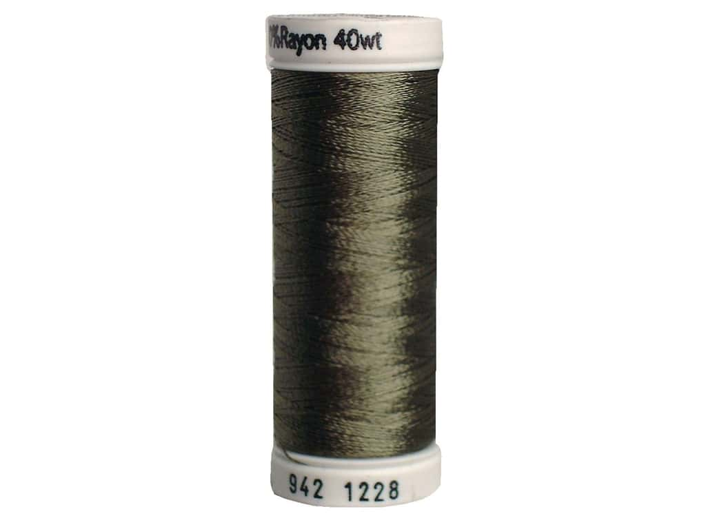 Sulky Rayon Thread 40 wt. 250 yd. #1228 Drab Green