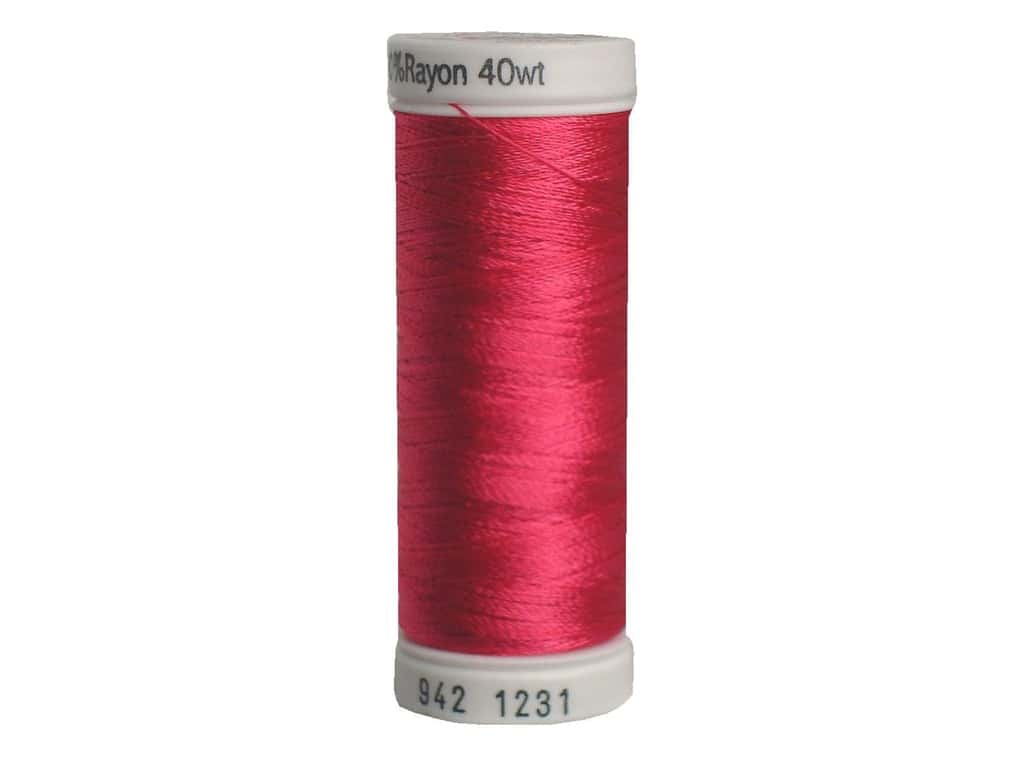 Sulky Rayon Thread 40 wt. 250 yd. #1231 Medium Rose