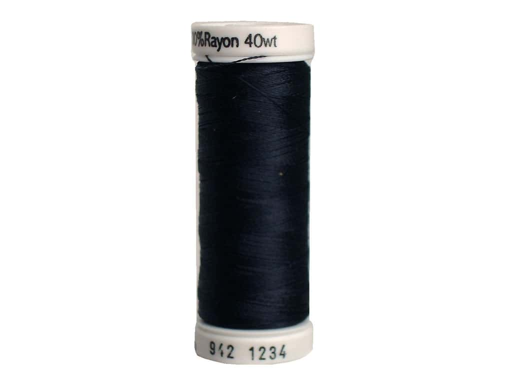 Sulky Rayon Thread 40 wt. 250 yd. #1234 Almost Black