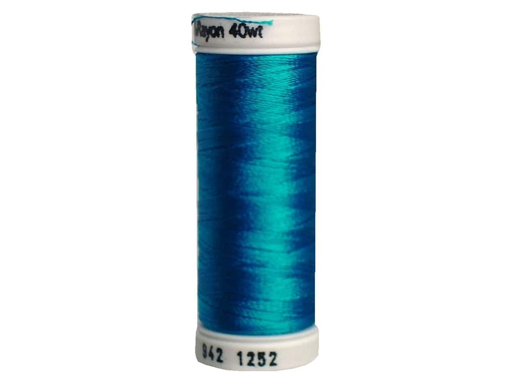 Sulky Rayon Thread 40 wt. 250 yd. #1252 Bright Peacock