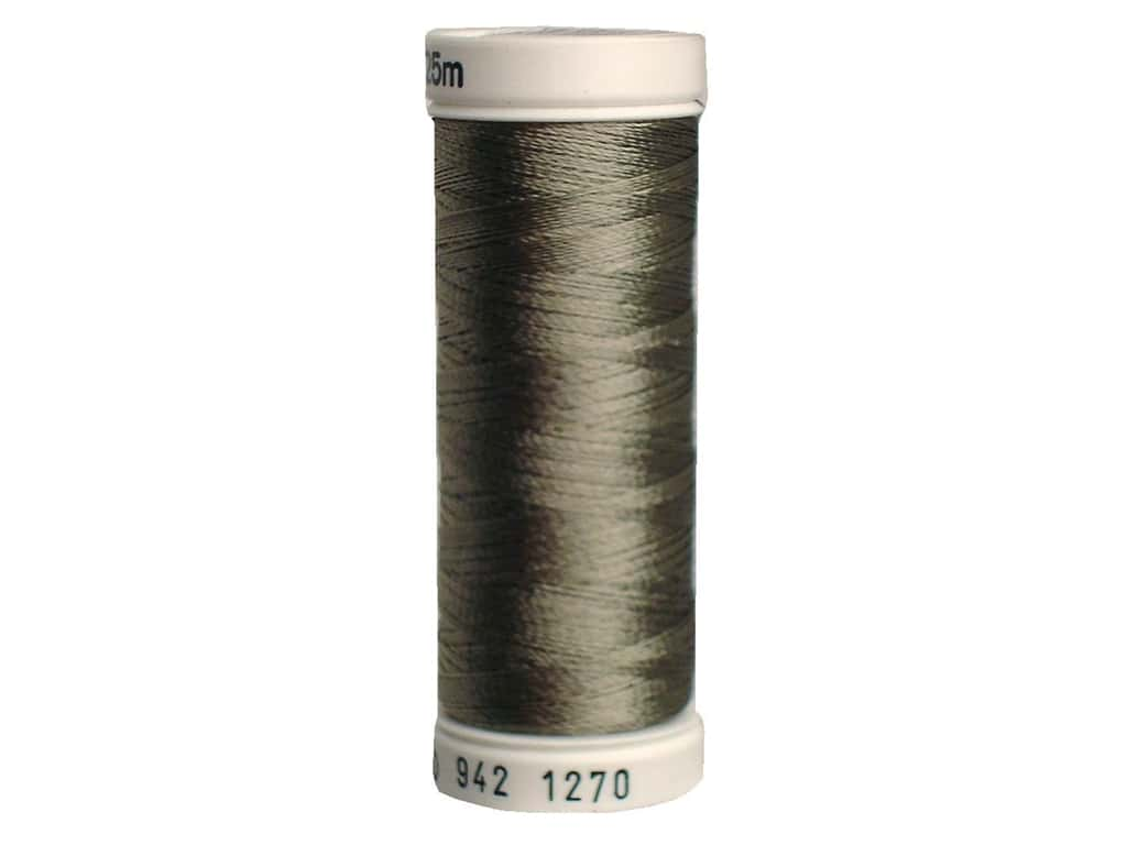 Sulky Rayon Thread 40 wt. 250 yd. #1270 Dark Grey Khaki