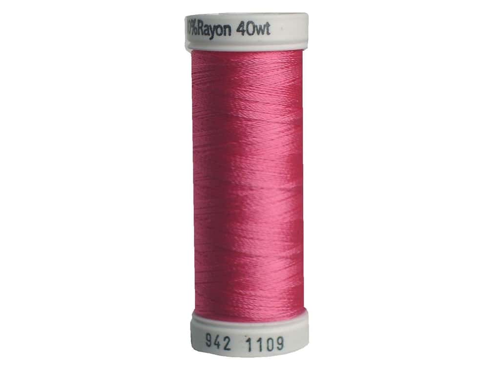 Sulky Rayon Thread 40 wt. 250 yd. #1109 Hot Pink
