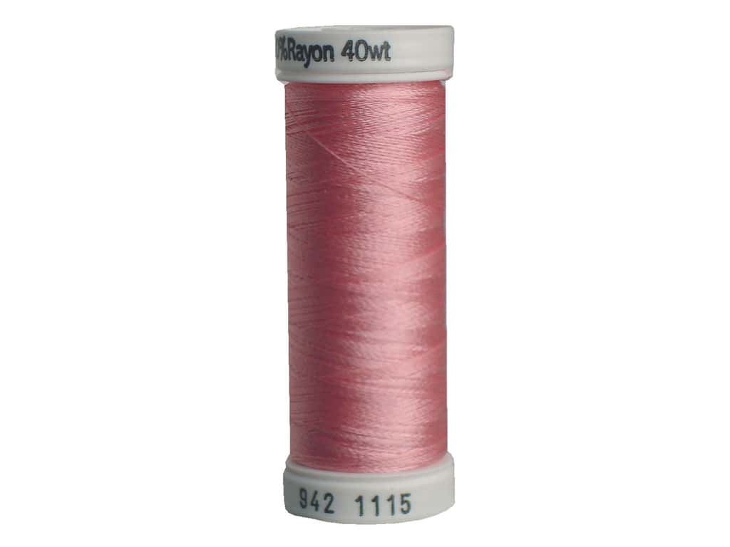 Sulky Rayon Thread 40 wt. 250 yd. #1115 Light Pink