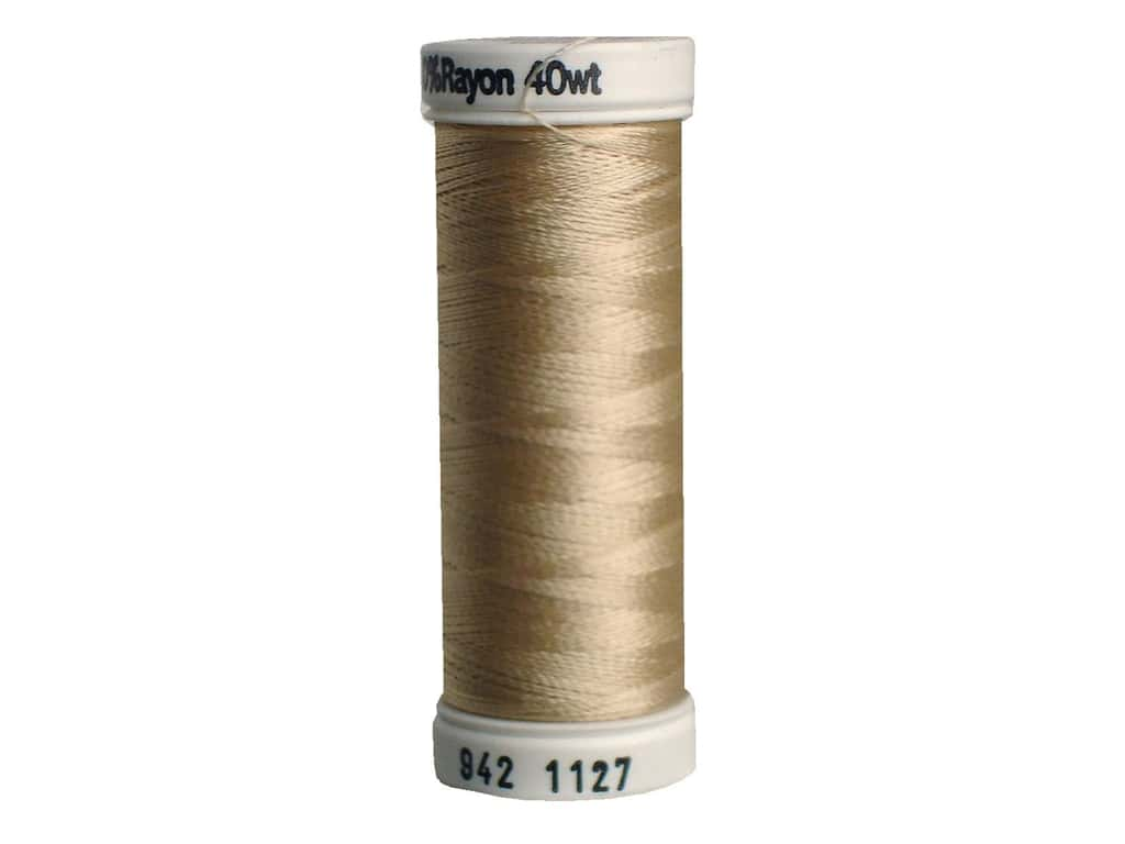 Sulky Rayon Thread 40 wt. 250 yd. #1127 Medium Ecru