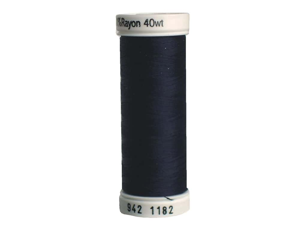 Sulky Rayon Thread 40 wt. 250 yd. #1182 Blue Black