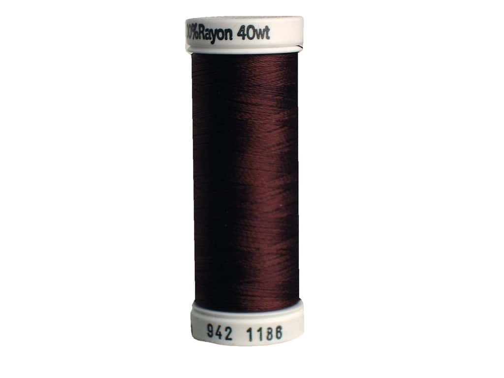 Sulky Rayon Thread 40 wt. 250 yd. #1186 Sable Brown