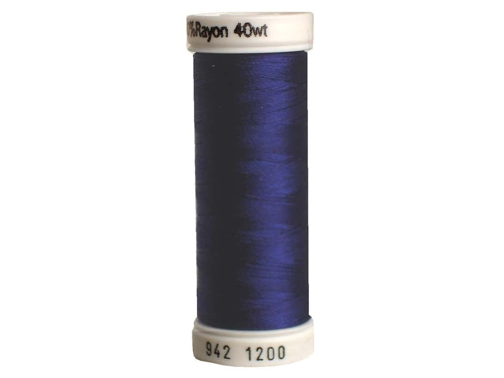 Sulky Rayon Thread 40 wt. 250 yd. #1200 Medium Dark Navy