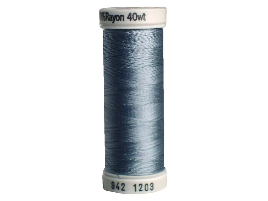 Sulky Rayon Thread 40 wt. 250 yd. #1203 Light Weathered Blue