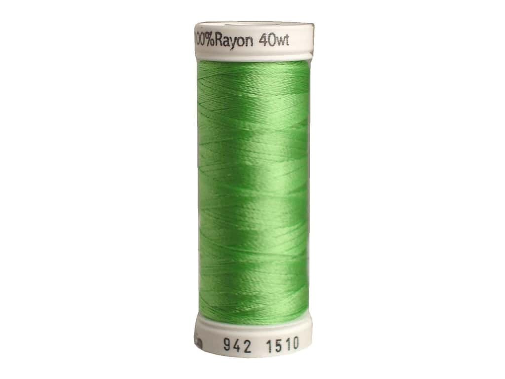 Sulky Rayon Thread 40 wt. 250 yd. #1510 Lime Green