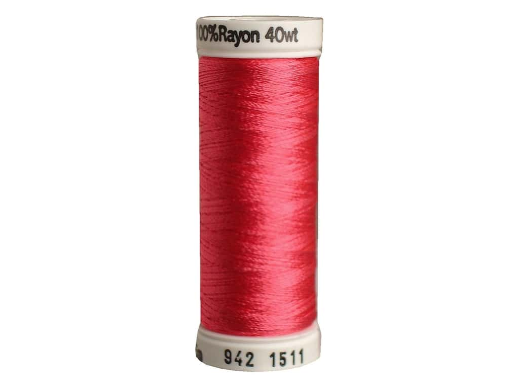 Sulky Rayon Thread 40 wt. 250 yd. #1511 Deep Rose