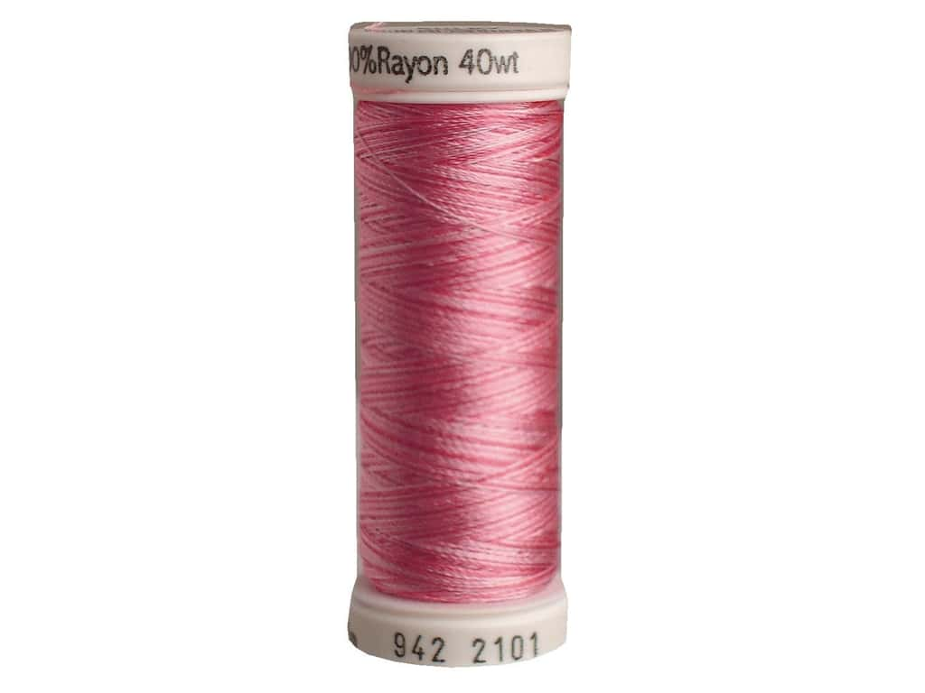 Sulky Rayon Thread 40 wt. 250 yd. #2101 Pinks