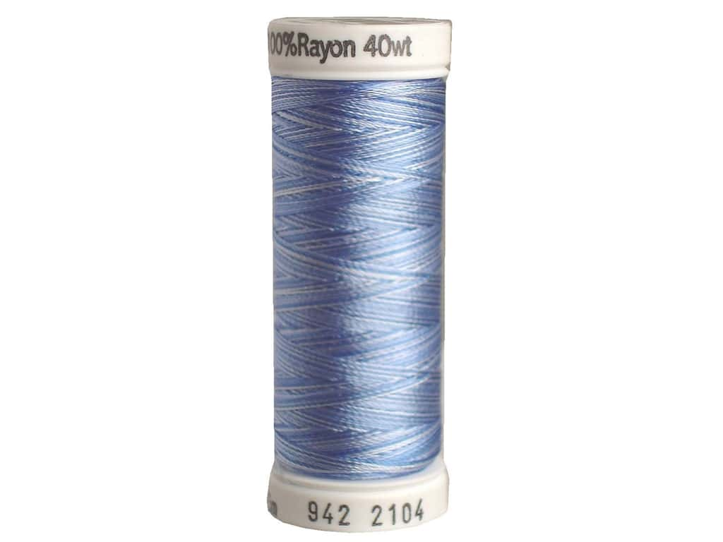 Sulky Rayon Thread 40 wt. 250 yd. #2104 Pastel Blues