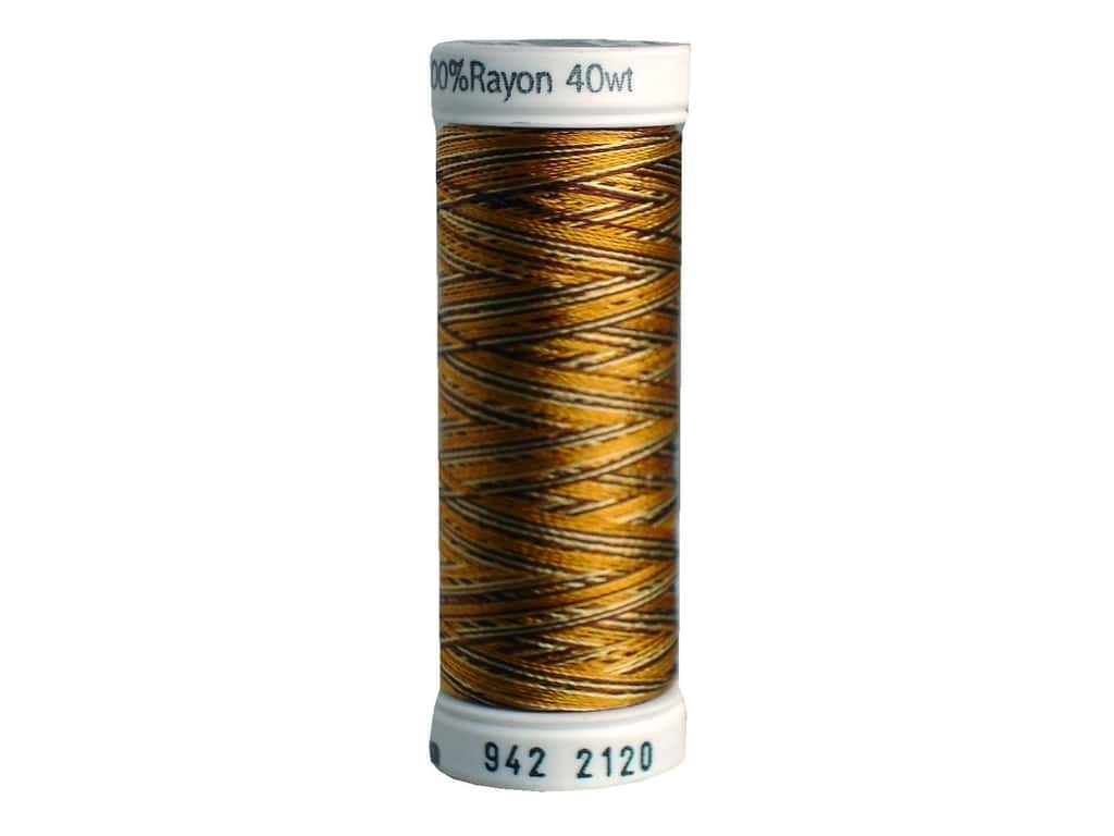 Sulky Rayon Thread 40 wt. 250 yd. #2120 Dark Browns