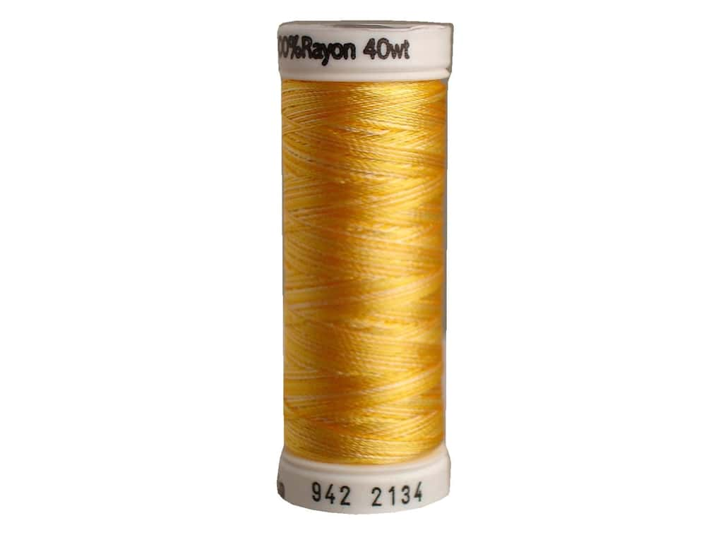 Sulky Rayon Thread 40 wt. 250 yd. #2134 Golden Yellows