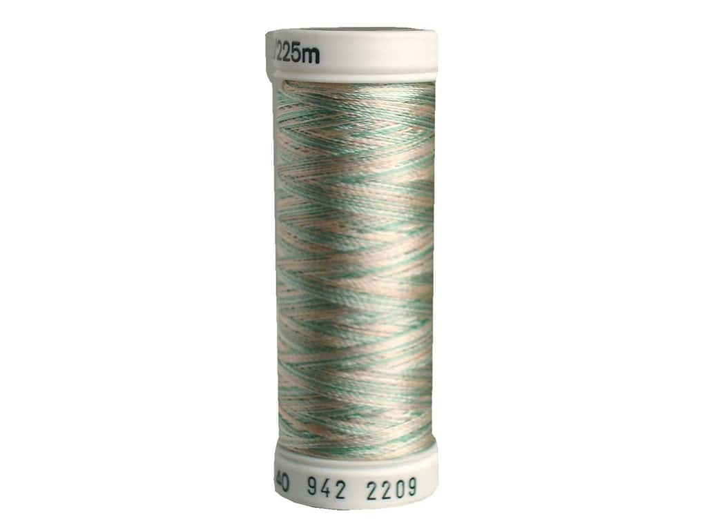 Sulky Rayon Thread 40 wt. 250 yd. #2209 Sea Foam/Coral Reef/Ecru