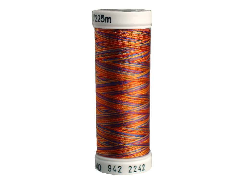 Sulky Rayon Thread 40 wt. 250 yd. #2242 Red/Gold/Blue