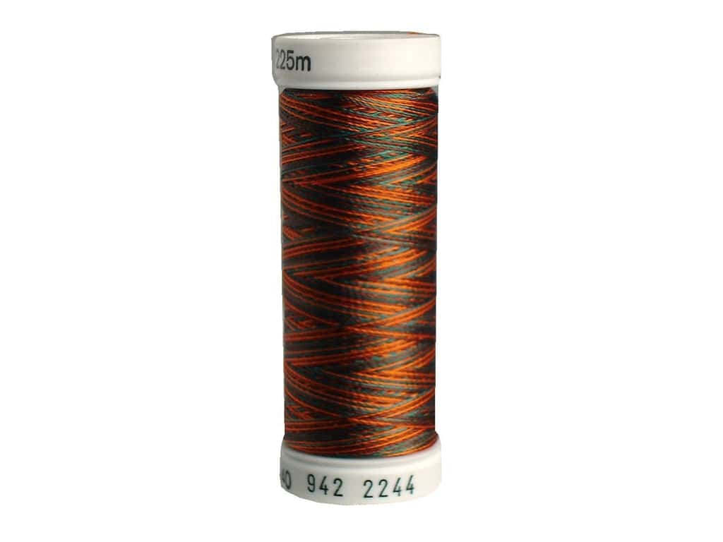 Sulky Rayon Thread 40 wt. 250 yd. #2244 Coral/Brown/Teal