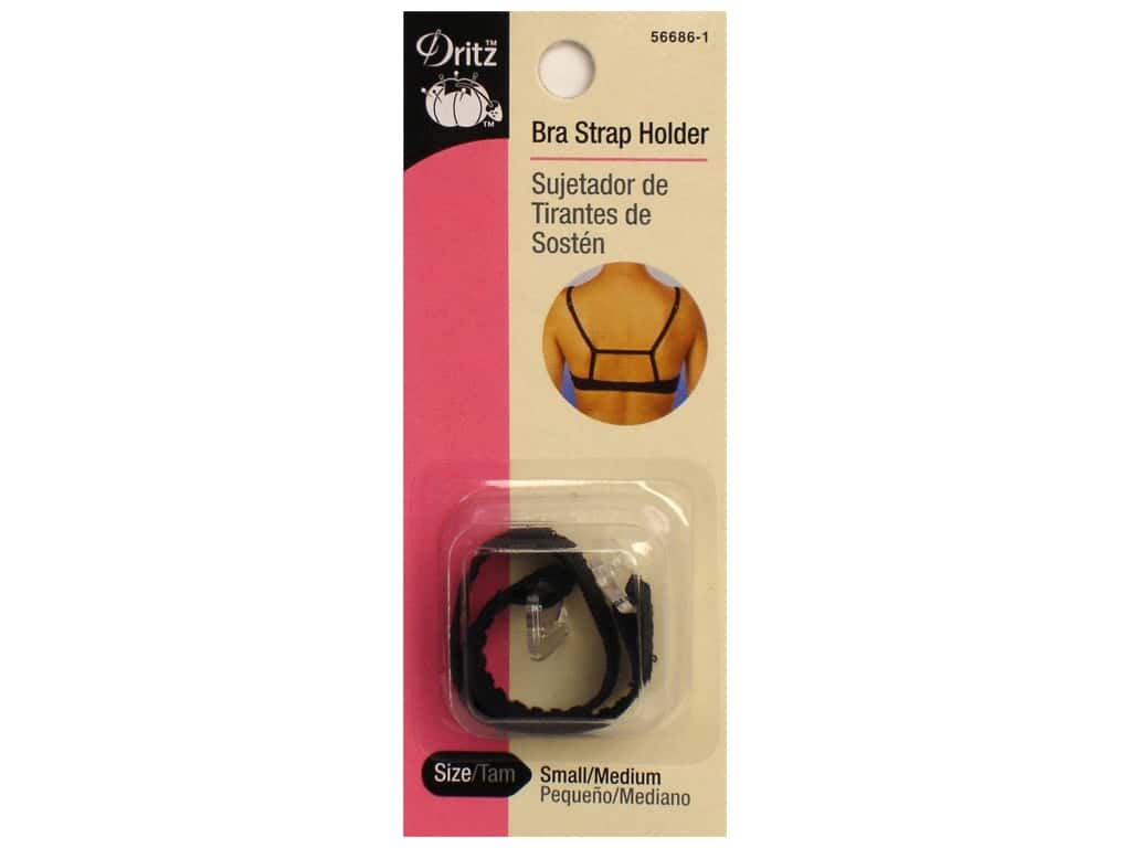 Dritz Bra Strap Holder Black