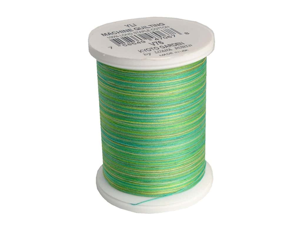 YLI Machine Quilting Thread 500 yd. #V76 Kyoto Garden