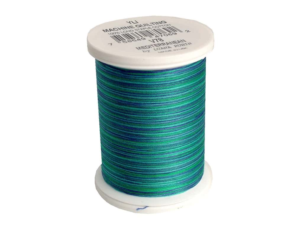 YLI Machine Quilting Thread 500 yd. #V78 Mediterranean