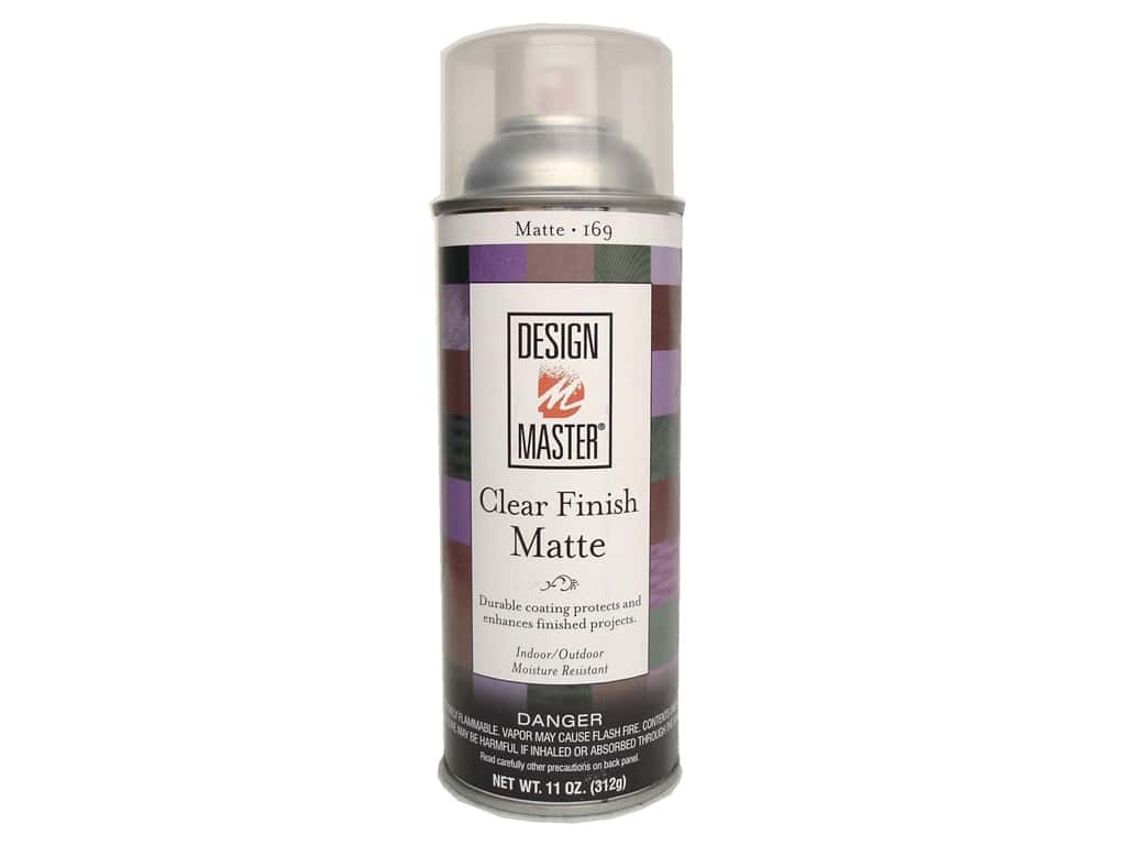 Design Master Home Decor Stain 11 oz. #169 Clear Finish Matte