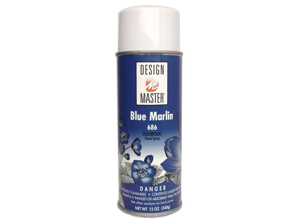 Design Master Colortool Spray Paint 12 oz. #686 Blue Marlin