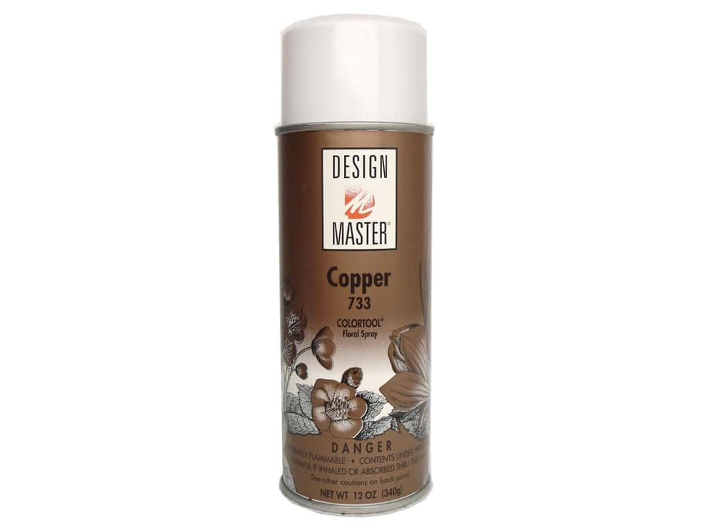 Design Master Colortool Spray Paint 11 oz. #733 Copper