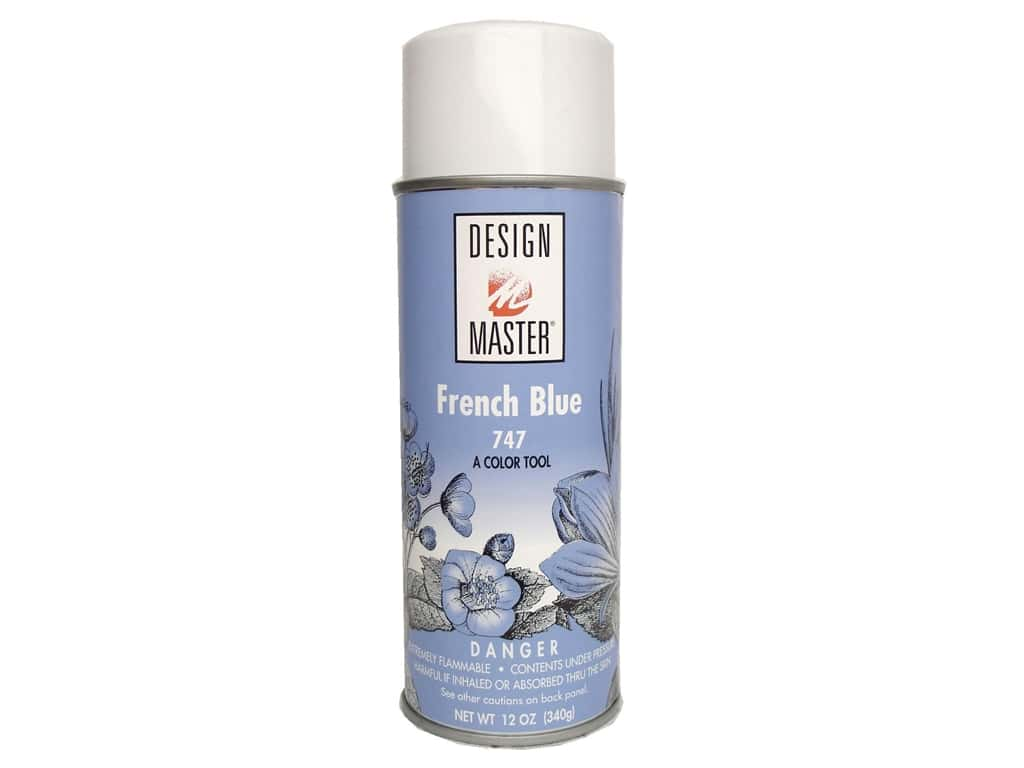 Design Master Colortool Spray Paint 12 oz. #747 French Blue