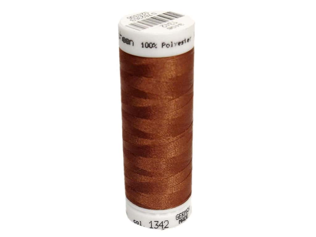 Mettler PolySheen Embroidery Thread 220 yd. #1342 Rust